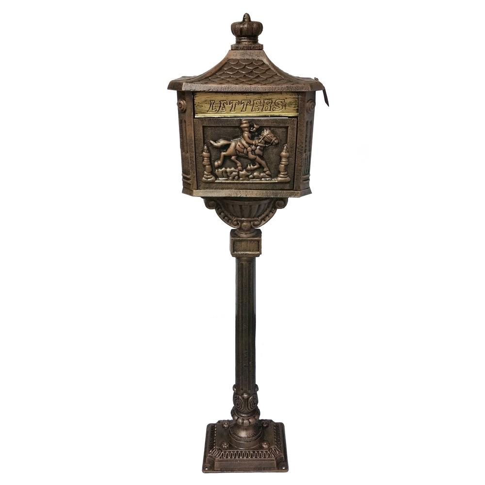 Chelsea 59 in. Outdoor Mail Box