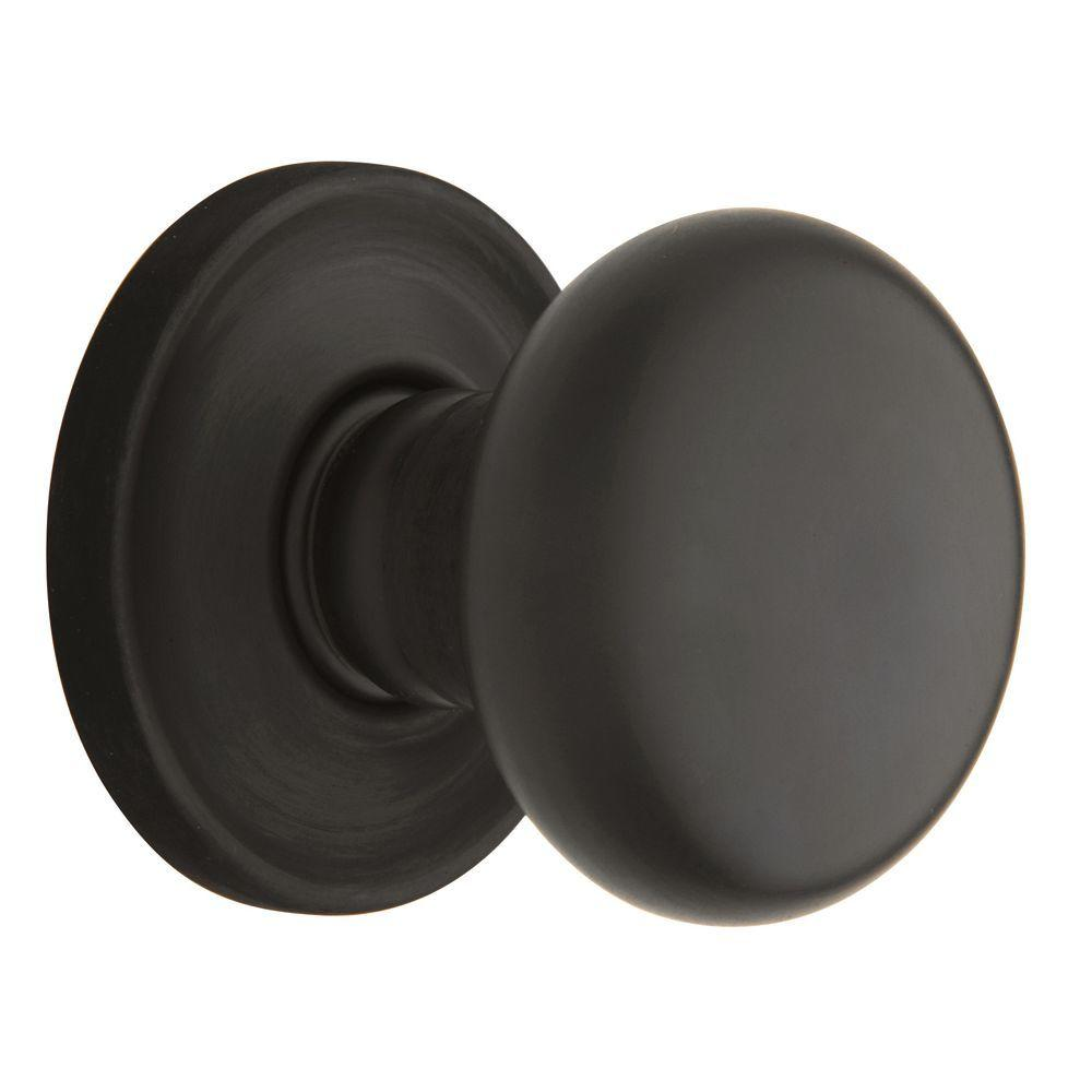 Baldwin Estate Classic Oil Rubbed Bronze Hall/Closet Door Knob-5015 ...