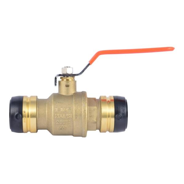 1-1/4 in. Push-to-Connect Brass Ball Valve