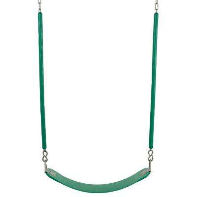 Belt Swing For All Ages Soft Grip Chain Fully Assembled in Green