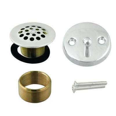 Universal Trip Lever Tub Waste Trim Kit, Powder Coat White