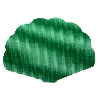 Emerald Fishnet Shell Placemat (Set of 12)