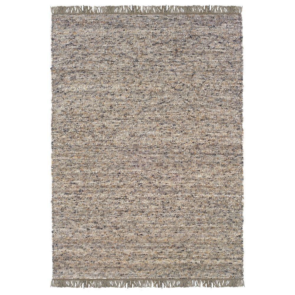 linon home decor verginia berber dark/natural 8 ft. x 10 ft. indoor Berber Area Rugs