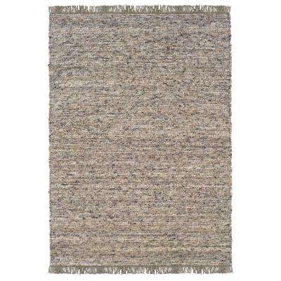 Verginia Berber Dark/Natural 8 ft. x 10 ft. Indoor Area Rug