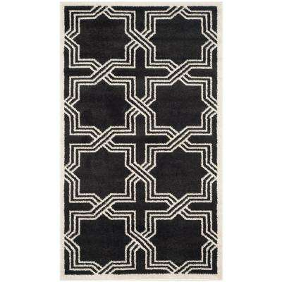 3 X 4 - Black - Outdoor Rugs - Rugs - The Home Depot