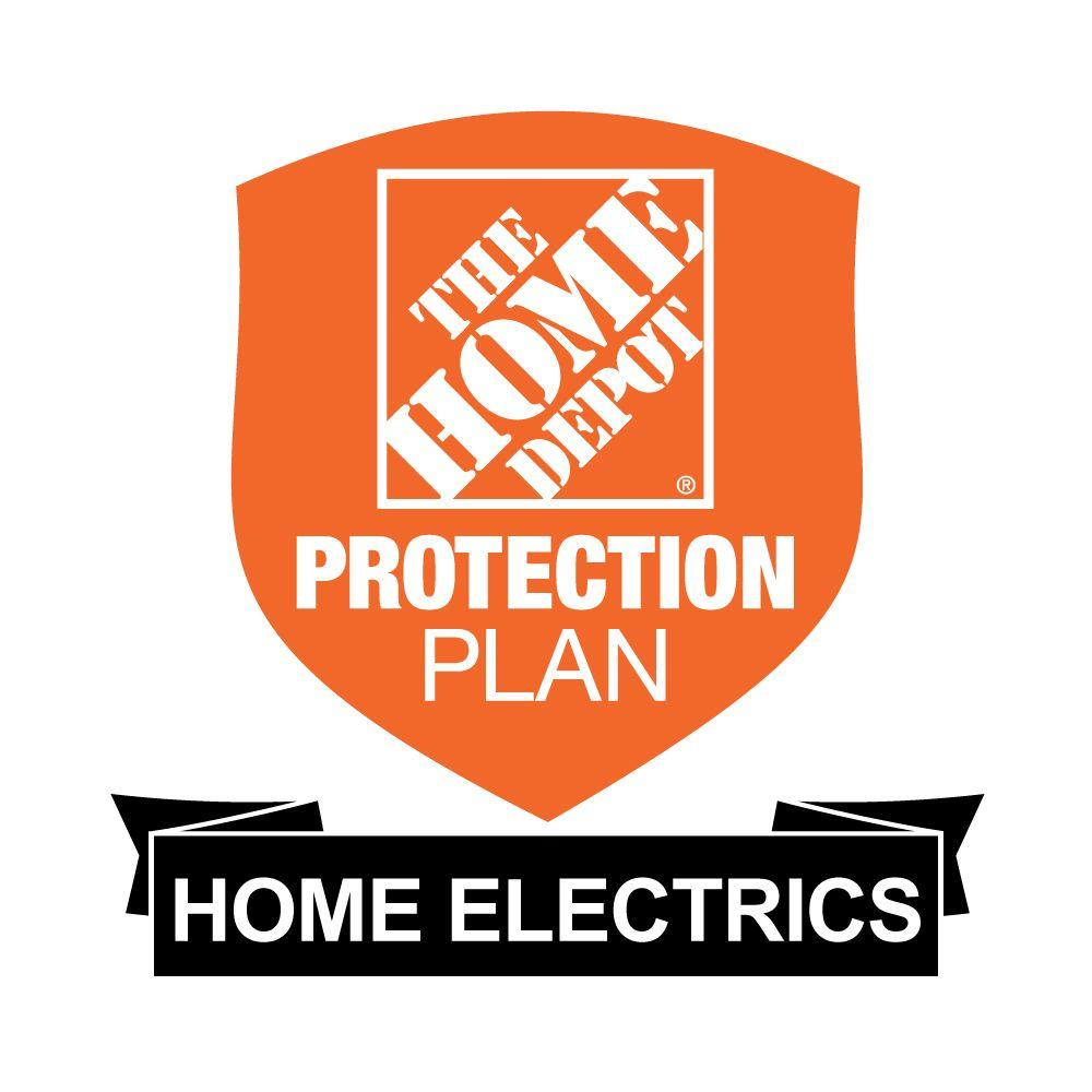The Home Depot 2-Year Protection Plan for Home Electrics ($0-$24.99)