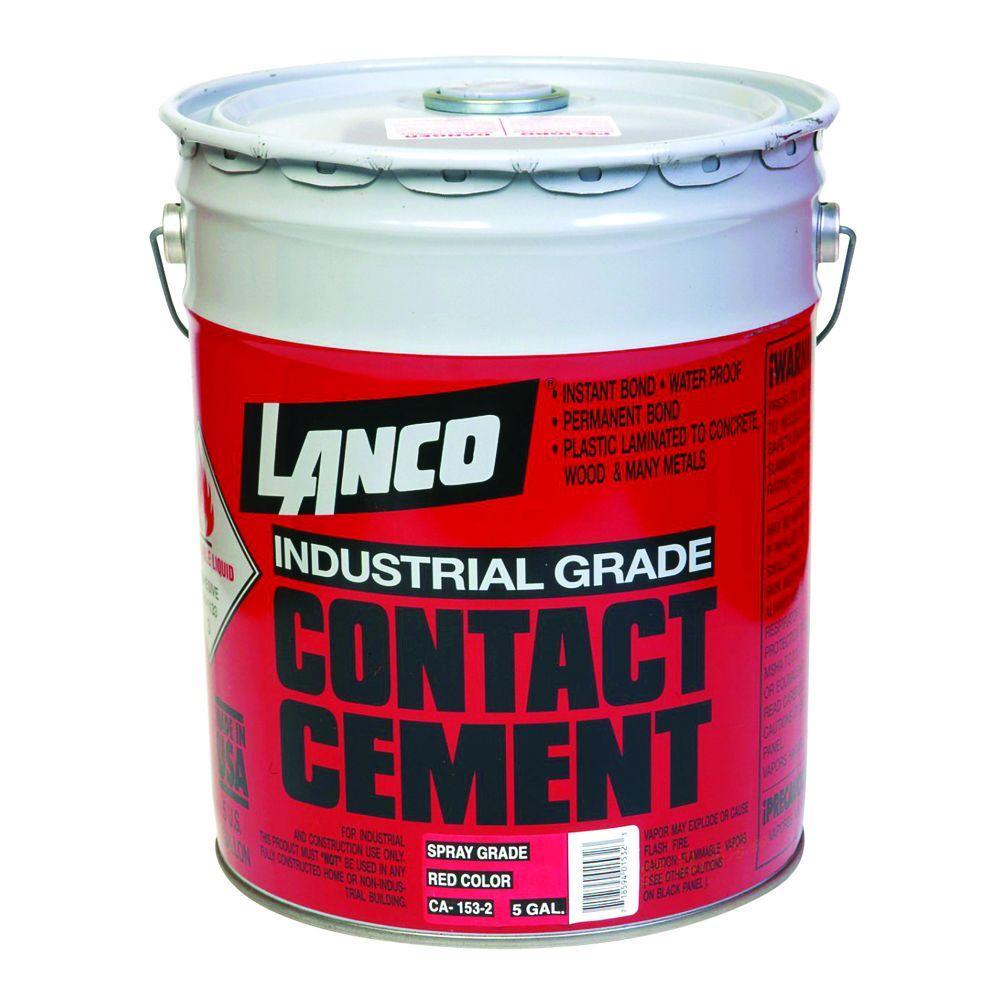 536 fl. oz. Industrial-Grade Contact Cement Spray