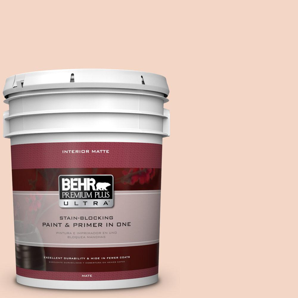5 gal. #M180-2 Resort Sunrise Matte Interior Paint