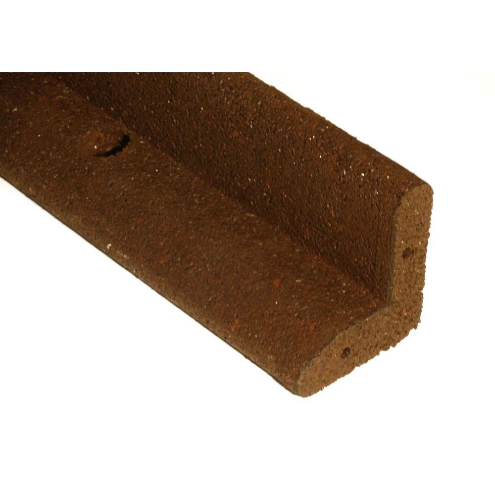 ecoborder 4 ft brown rubber landscape edging ecobrd brn 4ft the