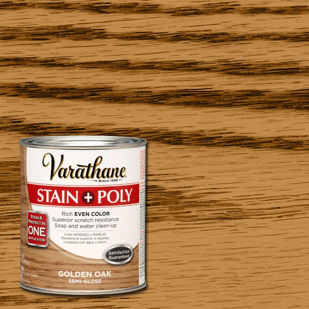 Varathane 1-qt. Golden Oak Stain and Polyurethane (Case of 2)