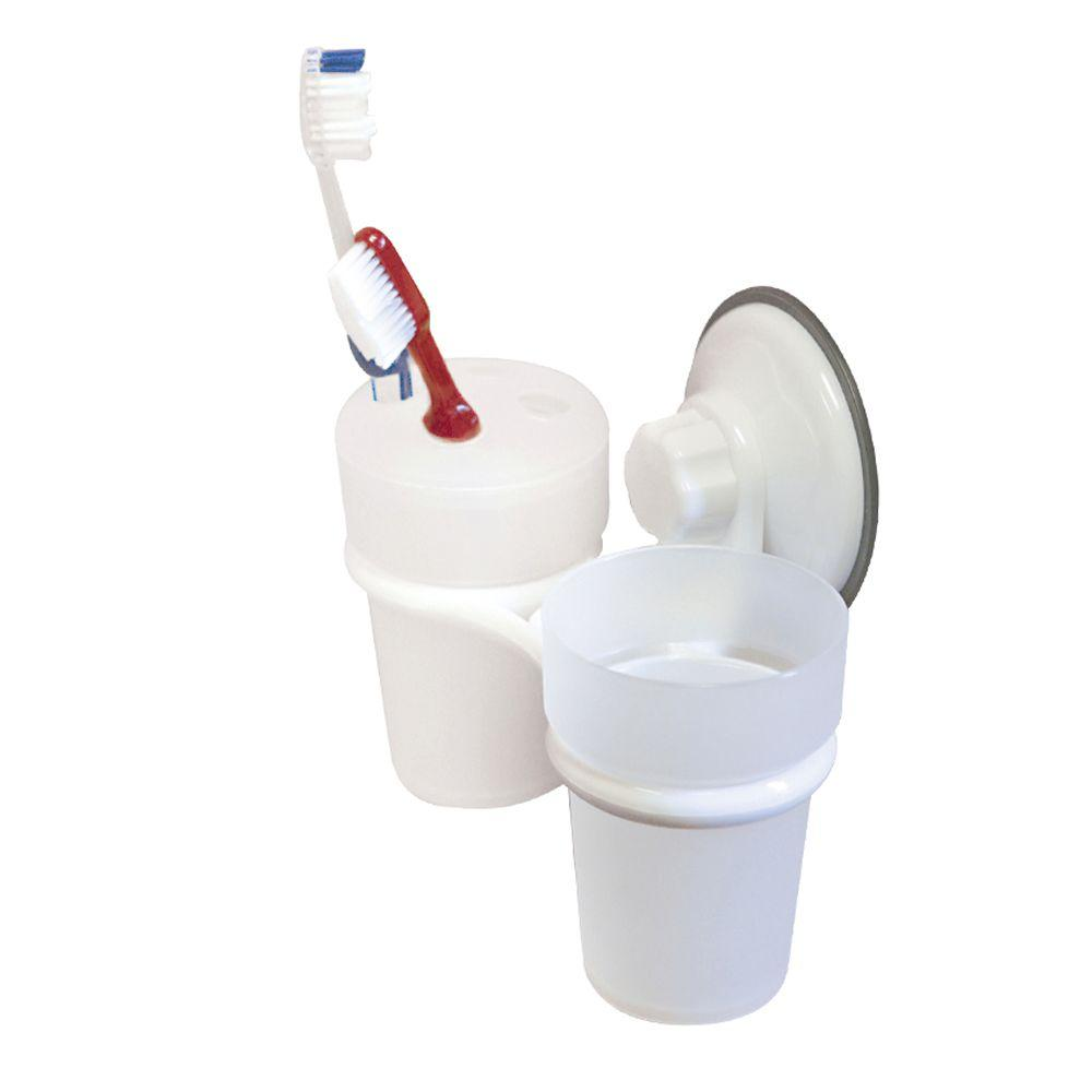 Camco Bathroom Cup/Toothbrush Holder