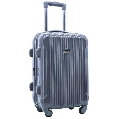 20 in. Expandable Hardside Rolling Carry-On with Spinners and Metallic