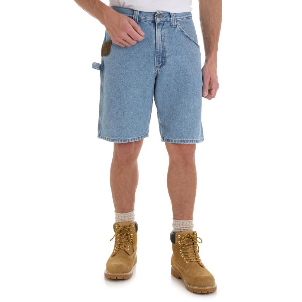 Wrangler Men's Size 52 in. x 12 in. Vintage Indigo Carpenter Short