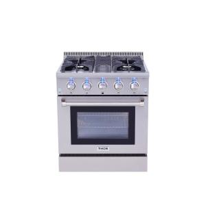 b3915a06137 Cosmo Commercial-Style 36 in. 3.8 cu. ft. Single Oven Dual Fuel ...