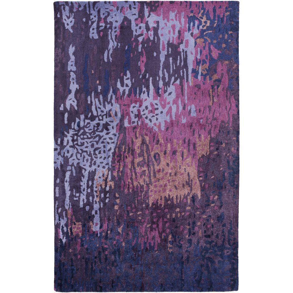 Atkinson Violet (Purple) 8 ft. x 11 ft. Indoor Area Rug