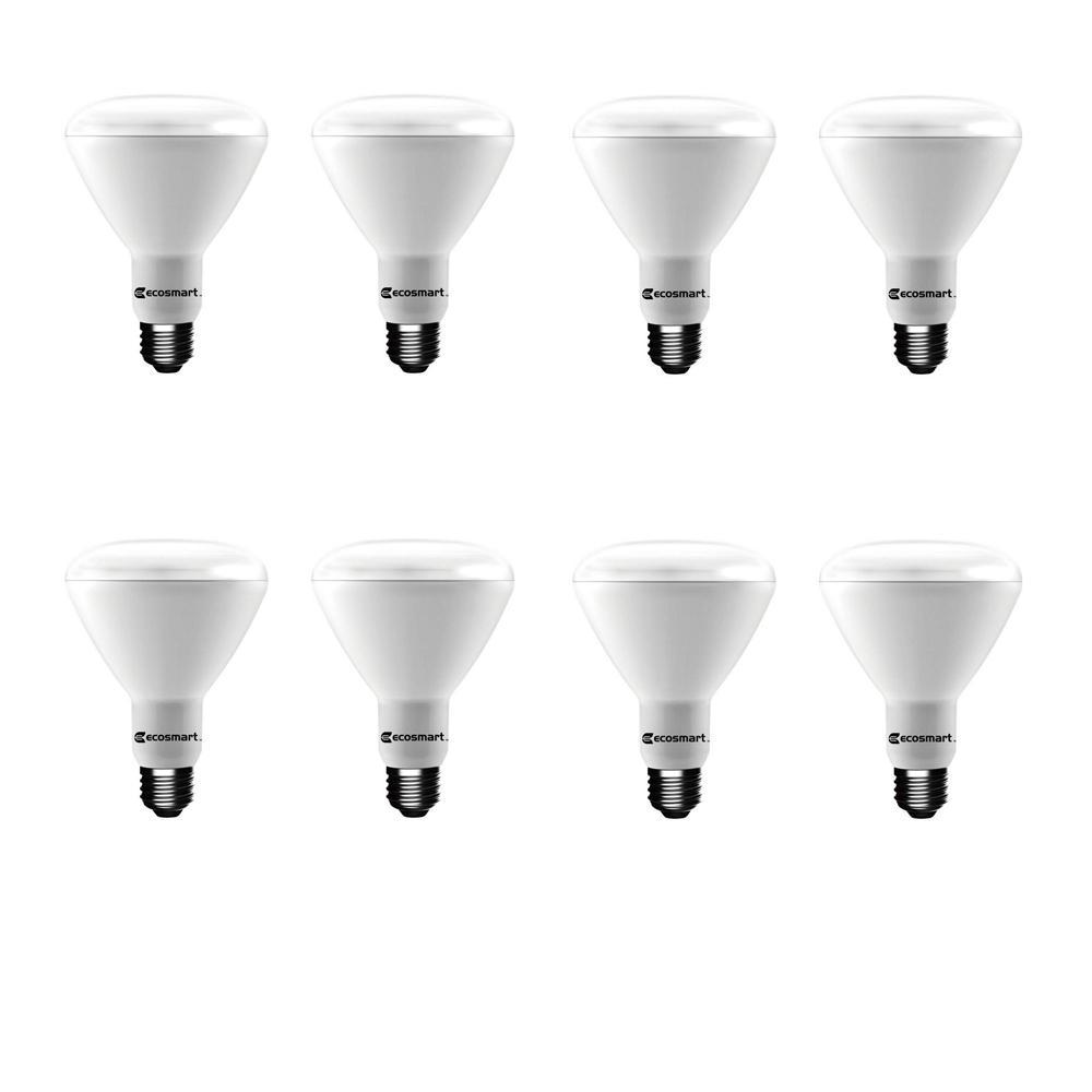 90-Watt Equivalent BR40 Dimmable ENERGY STAR LED Light Bulb Daylight (8-Pack)