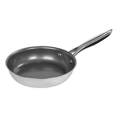 8 in. Stainless Steel Skillet