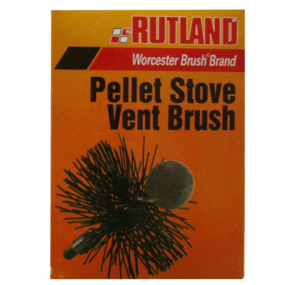 Rutland 3 inch Pellet Stove Vent Brush by Rutland