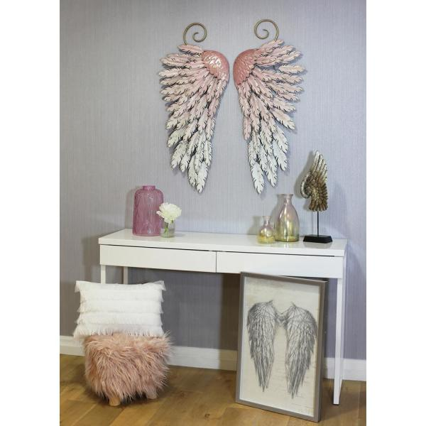 Arthouse Large Metal Angel Wings Decor 5178 The Home Depot