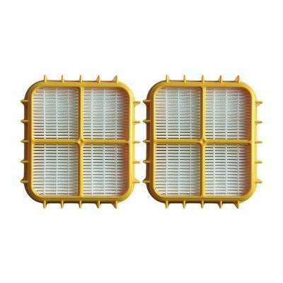 HEPA Style Filters Replacement f Eureka HF10 Part 63347, 63347-4 and 77973 (2-Pack)
