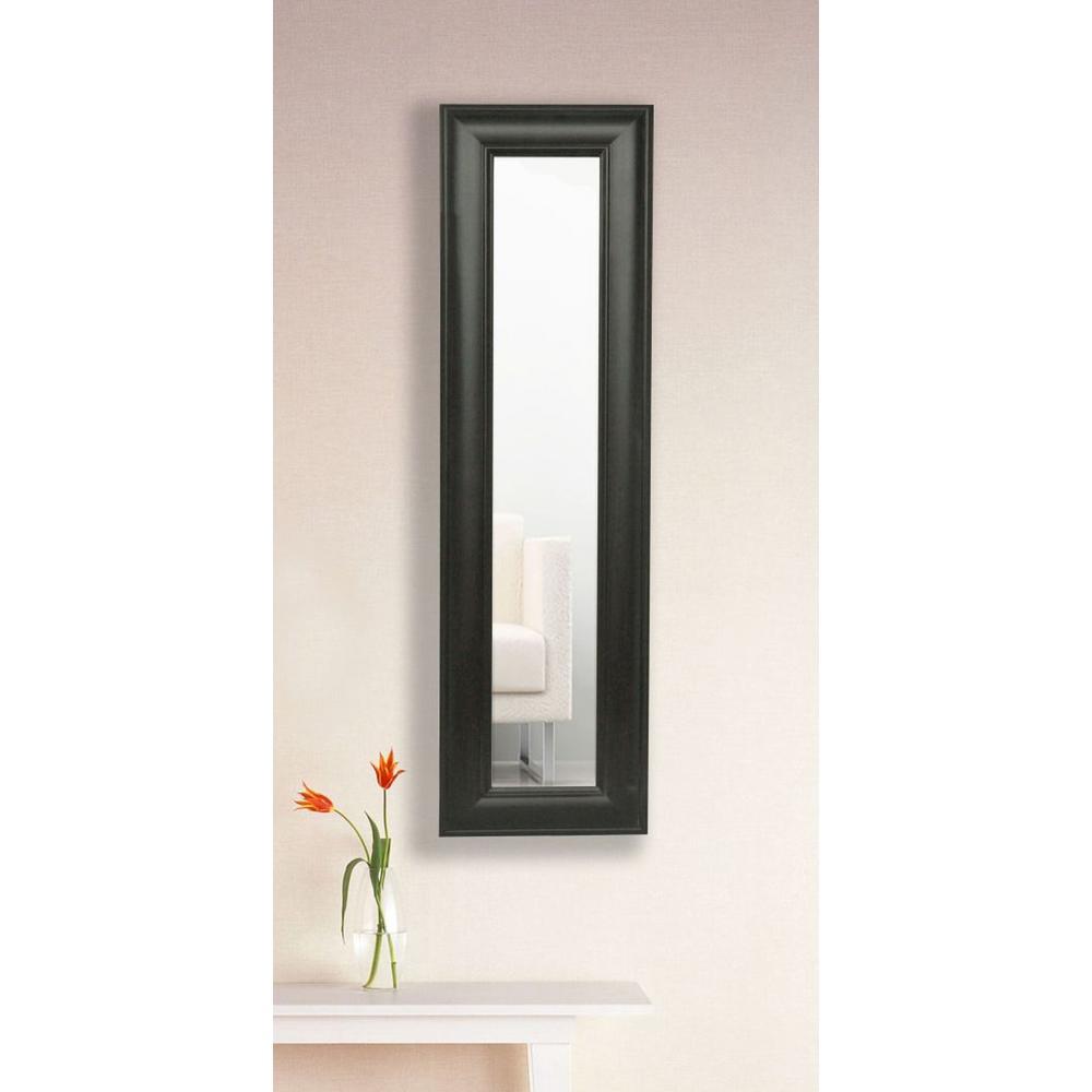11 in. x 32 in. Brazilian Walnut Vanity Mirror Single Panel
