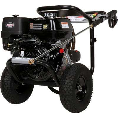 PowerShot 4200PSI at 4.0GPM HONDA GX390 with AAA Industrial Triplex Pump Pressure Washer