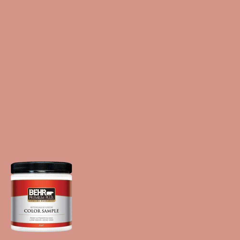 8 oz. #T15-20 Peach Preserve Zero VOC Interior/Exterior Paint Sample