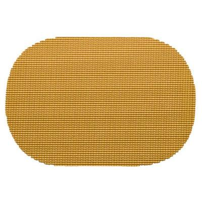 Golden Fishnet Oval Placemat (Set of 12)