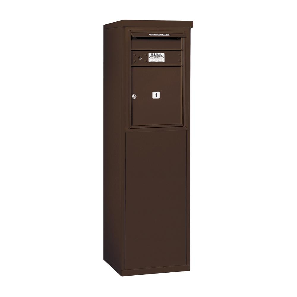 3900 Horizontal Series 1-Compartment Free Standing Mailbox