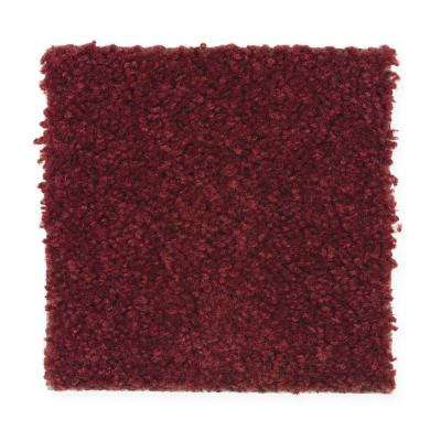 Carpet Sample- Thoroughbred- Color Winners Roses 8 in. x 8 in.