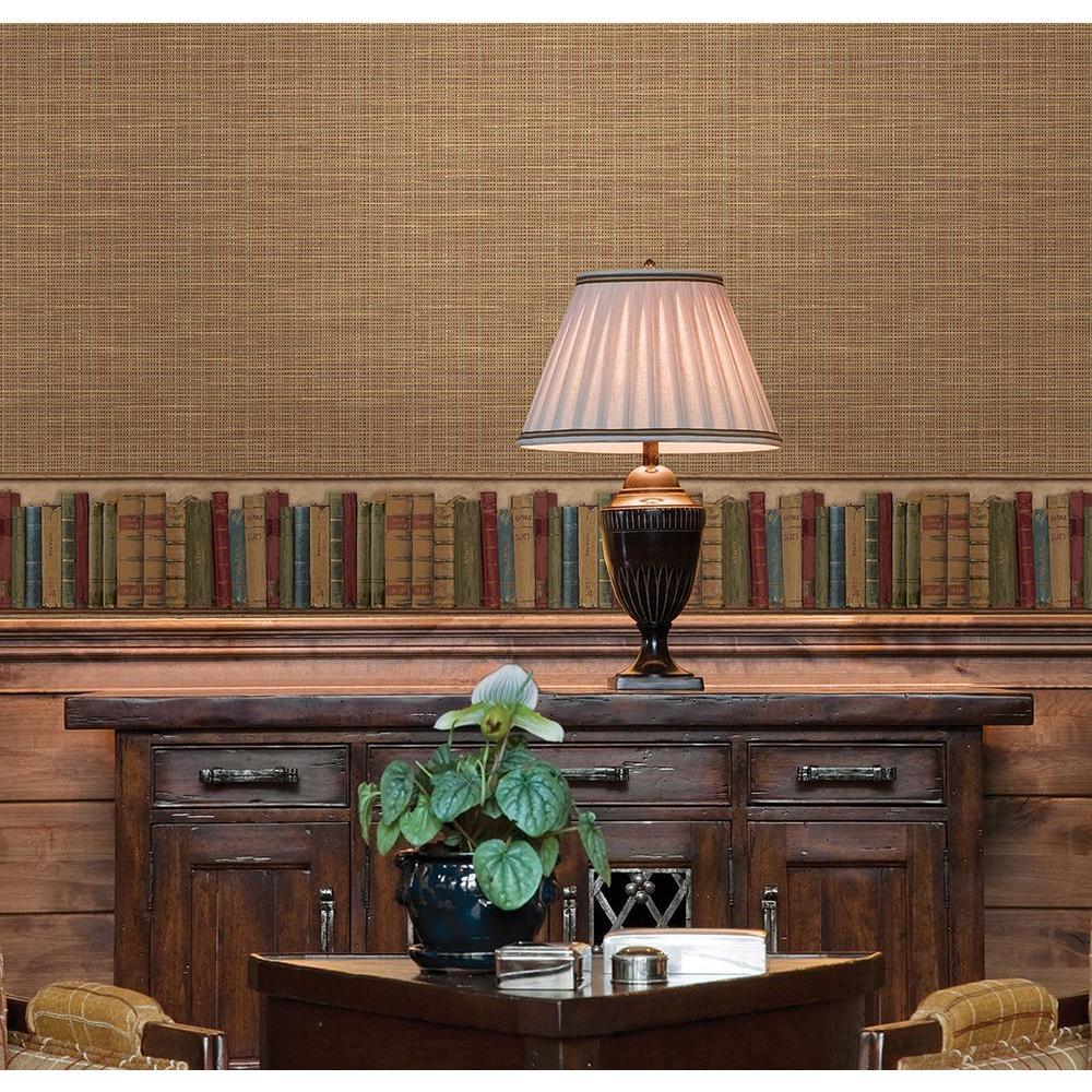 Reynolds Books Wallpaper Border