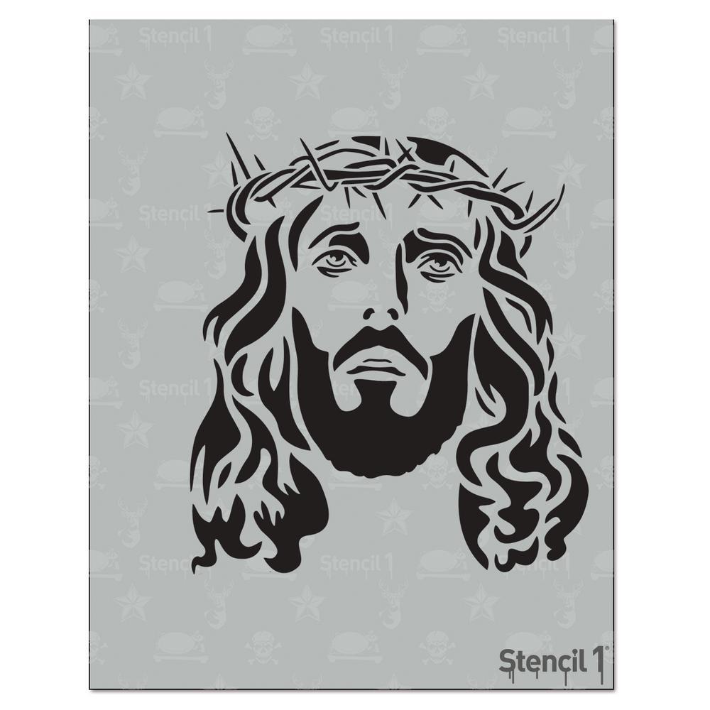 Jesus Stencil