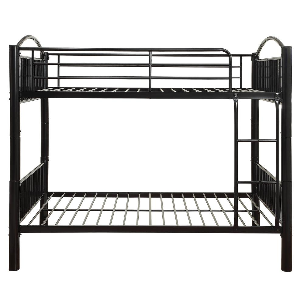 Acme Furniture Cayelynn Black Full Over Full Bunk Bed 37390bk The