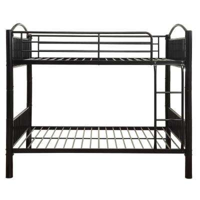 Cayelynn Black Full Over Full Bunk Bed
