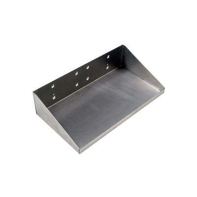 12 in. W x 6 in. D Stainless Steel Shelf for Stainless Steel Square Hole Lock Boards