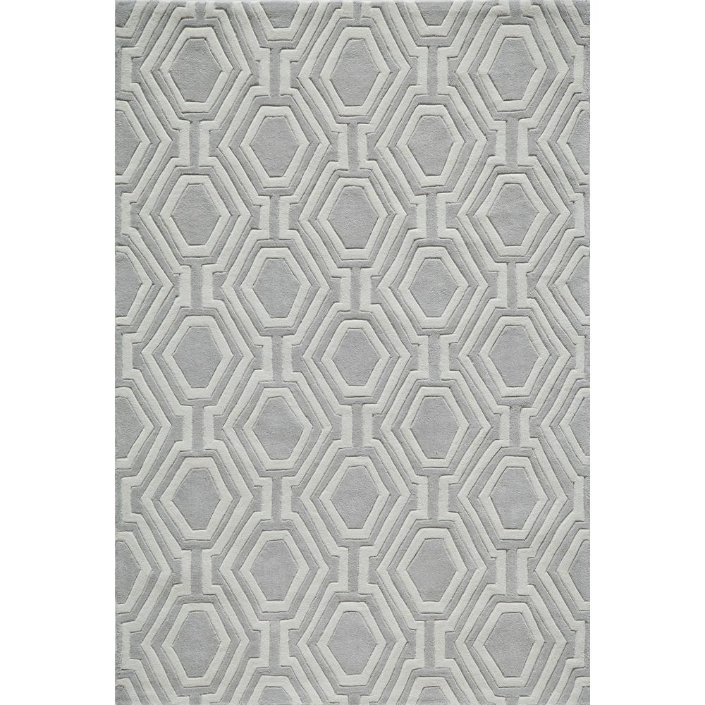 Bliss Grey 8 ft. x 10 ft. Indoor Area Rug