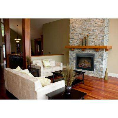 39 in. Deluxe Built-In Electric Fireplace Insert with Brick Effect and Purifire