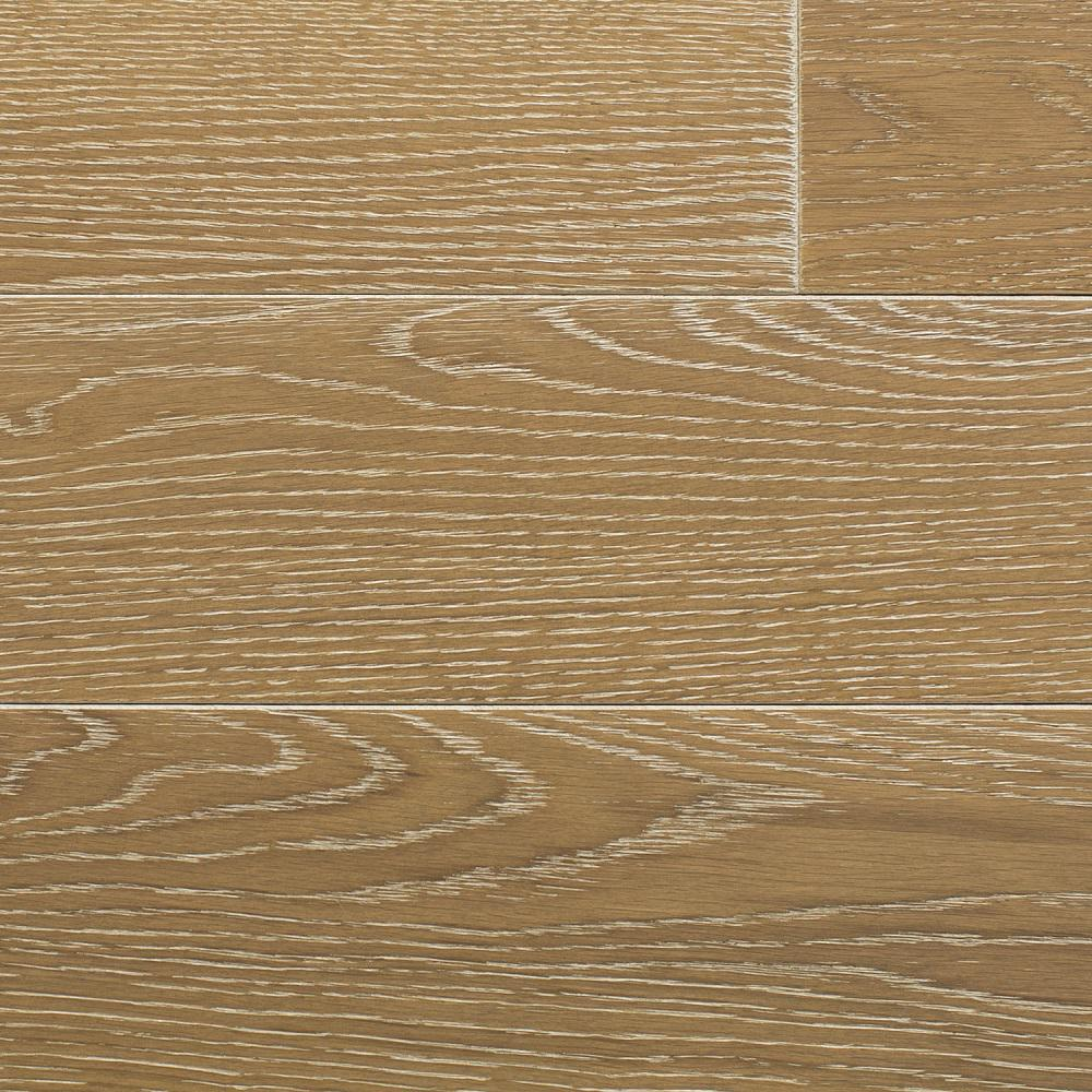 Oak Charleston Sand Wire Brushed 3/4 in. Thick x 3 in.