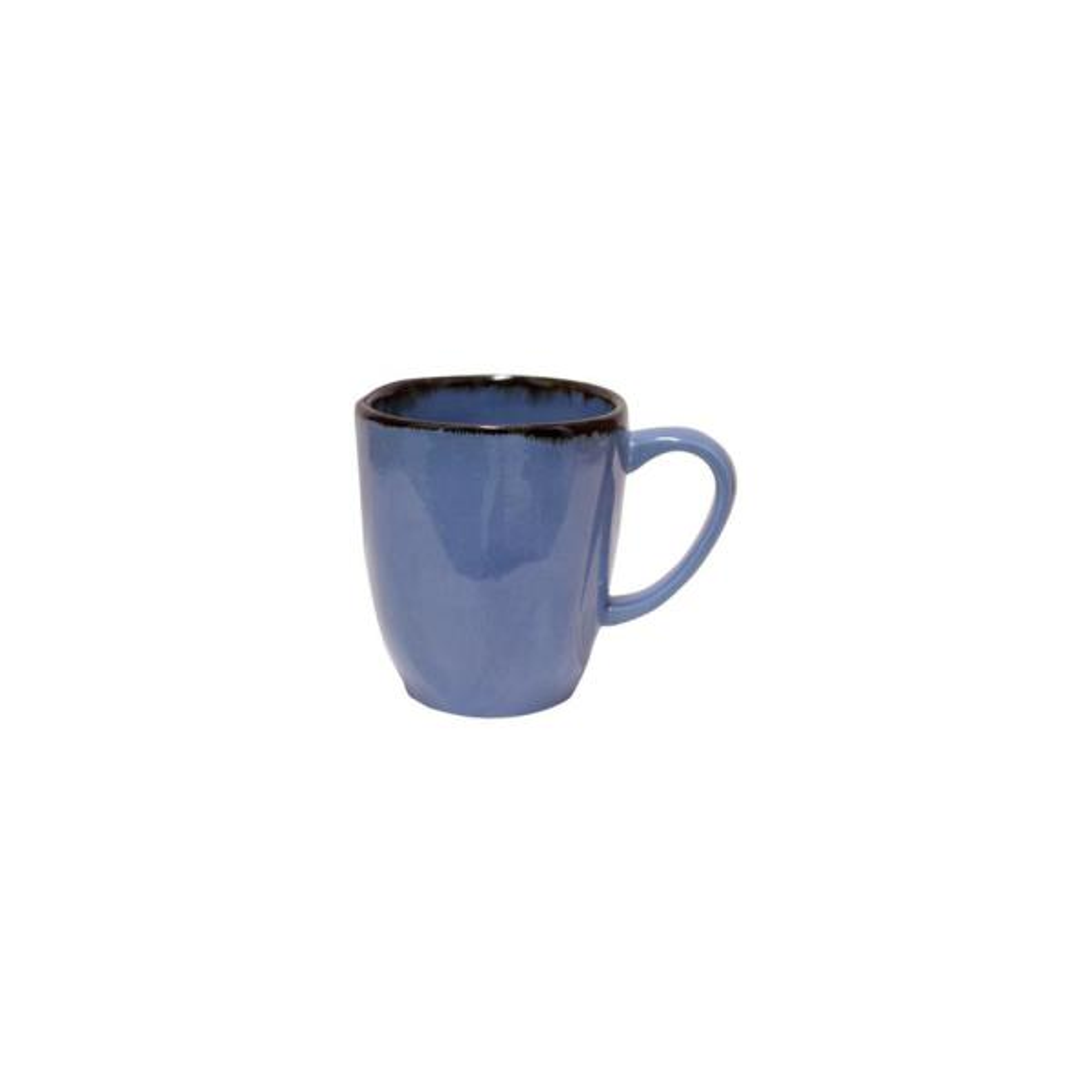 RYO 14.20 oz. Blue Porcelain Mugs (Set of 12)