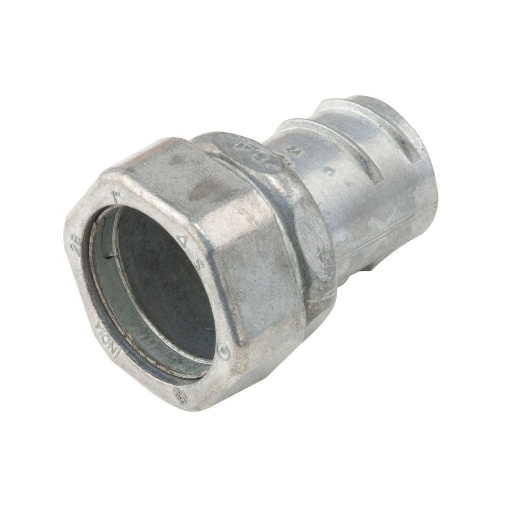 RACO EMT to Flex 1/2 in. Compression/Screw-In Coupling (50-Pack)