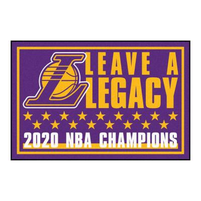 NBA - Los Angeles Lakers 2020 NBA Finals Champions 3ft. x 5ft. Plush Area Rug