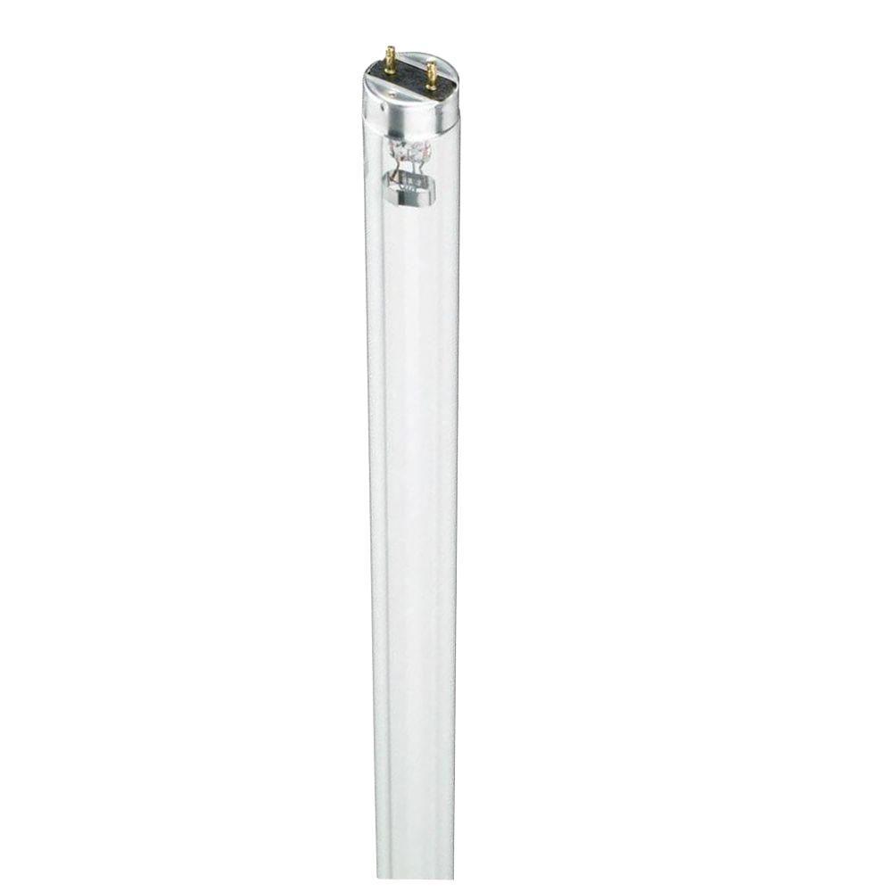 18 in. T8 15-Watt TUV Linear Fluorescent Germicidal Light Bulb (25-Pack)