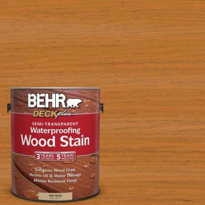 1 gal. #ST-140 Bright Tamra Semi-Transparent Waterproofing Exterior Wood Stain
