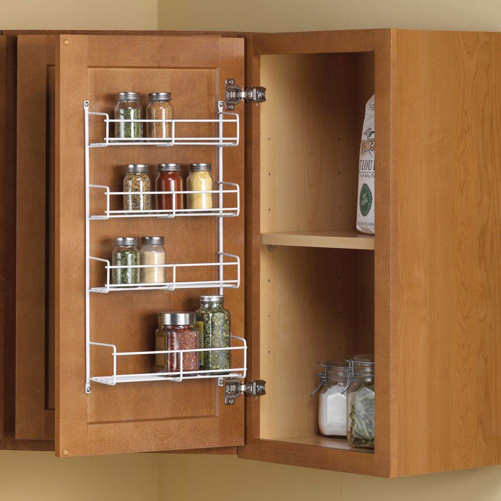 Door Mount Spice Rack Cabinet