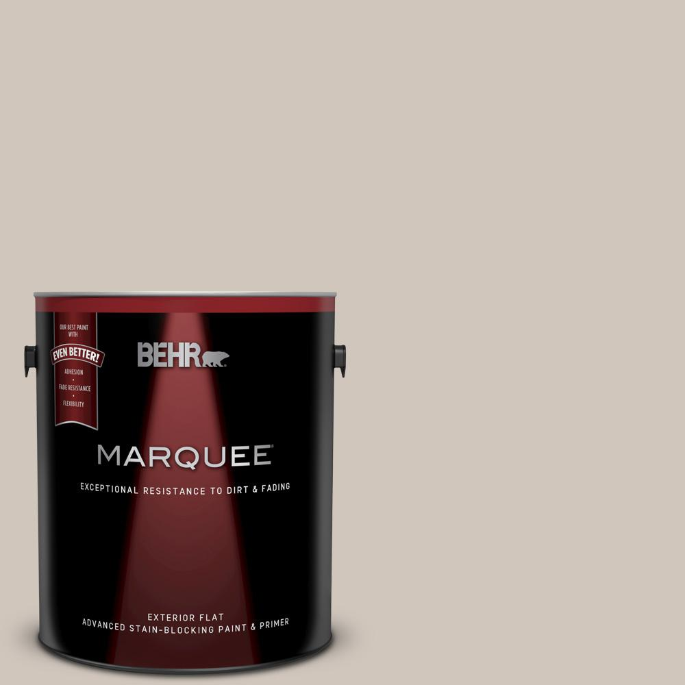 Behr Marquee 1 Gal N210 2 Cappuccino Froth Flat Exterior Paint And