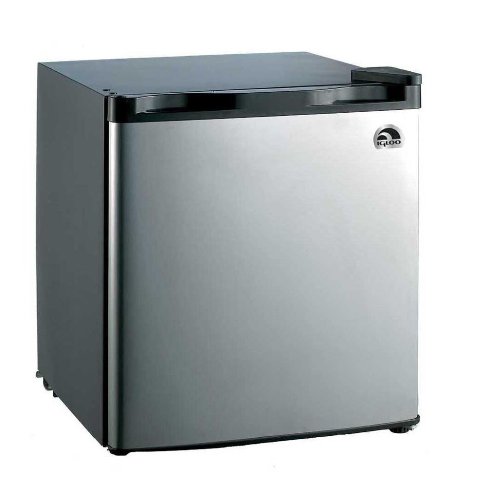 IGLOO 1.6 cu. ft. Mini Refrigerator in Stainless Steel
