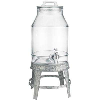 3 Gal. Beverage Dispenser with Galvanized Base