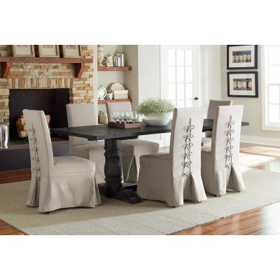 Muse Weathered Pepper Rectangular Dining Table