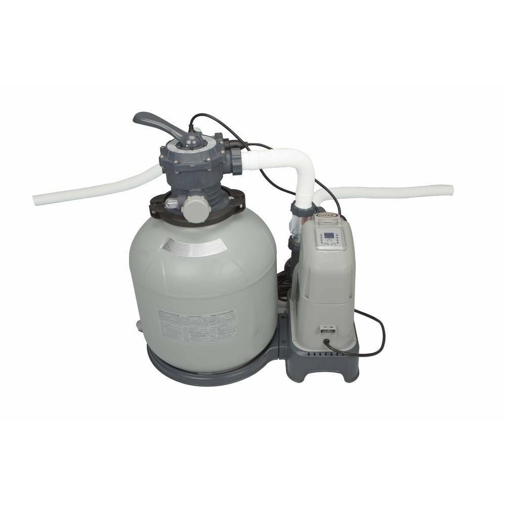 120 Volt Sand Filter Pump and Saltwater System