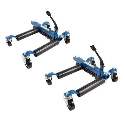 1500 lb. 9 in. Hydraulic Car Wheel Dolly (2-Pack)